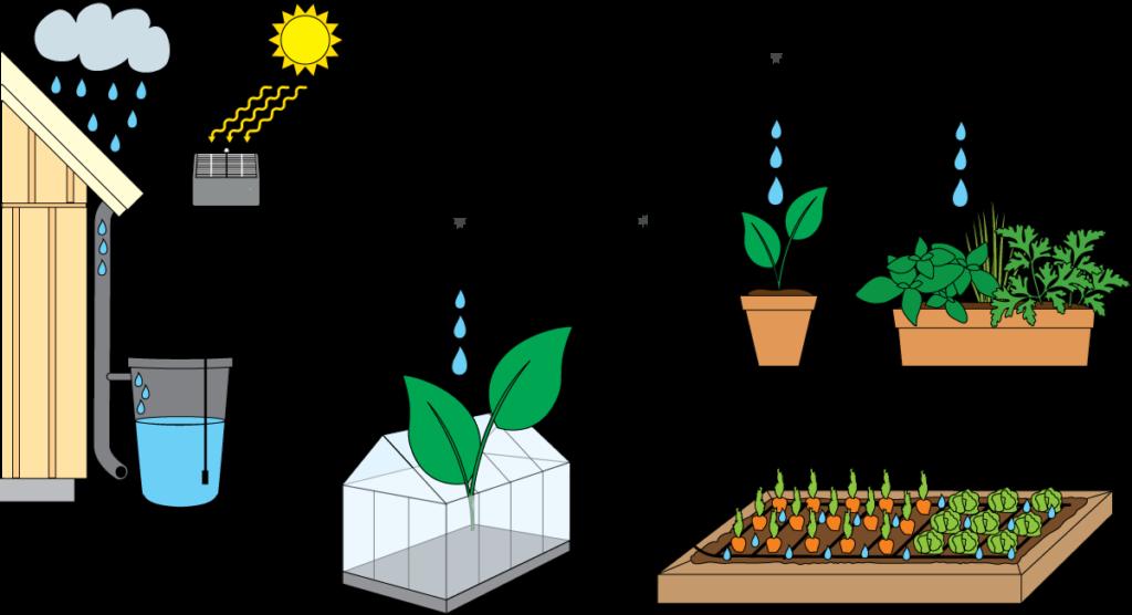 Spara på ditt kranvatten och använd automatiska bevattningssystemet EADS från greenLine istället. EADS vattnar med ditt regnvatten åt dig i din trädgård. Spara på regnvattnet. Läs mer här