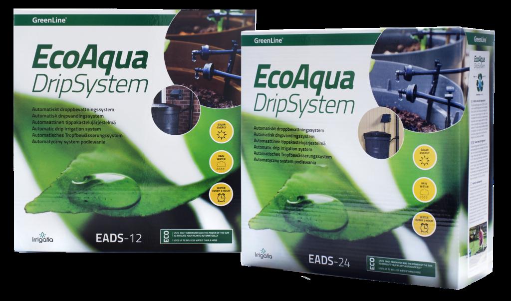 Automatiskt droppbevattningssystem från GreenLine. EADS är ett droppbevattningssystem som vattnar åt dig i krukor, rabatter, växthus och hela din trädgård,. Läs mer här www.greenline.eu
