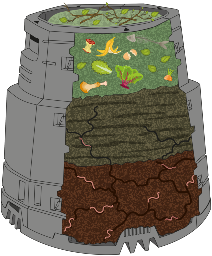 Det är roligt att kompostera, att göra sin egen gödning eller använda egen planteringsjord och se hur bra det växer på sina odlingar. Detta samtidigt som det skapas förutsättningar för en ökad biologisk mångfald i närmiljön. Att det dessutom är en god insats för miljön och ett sätt att skapa ett eget kretslopp hemma i trädgården gör att det känns ännu mer givande. Det finns många miljövinster med en egen kompost. Inte minst färre transporter för bortforsling av avfall och sedan vid inköp av jord, gödsel och jordförbättringsmedel! Hitta din kompost här: www.greenline.eu